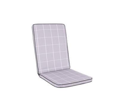 Cortona Chair Cushion - Wisteria check