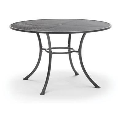 Round 135cm Mesh Table with parasol hole