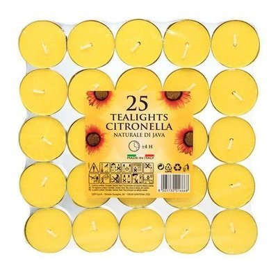 Price's Citronella tealights  (pack of 25)
