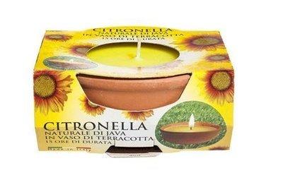 Price's Small Citronella Terracotta Pot