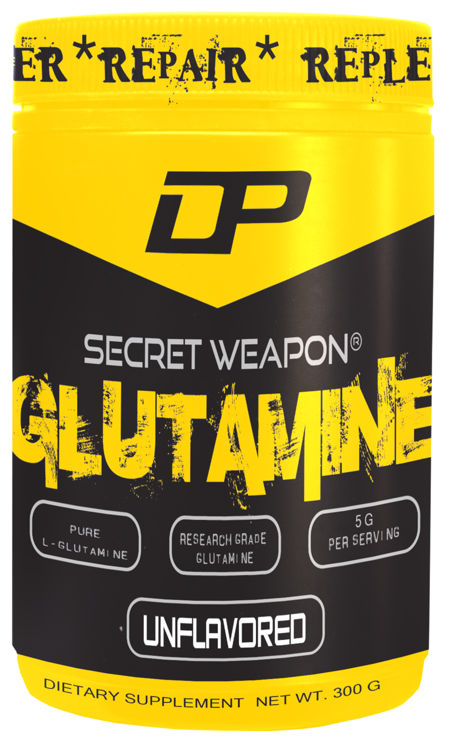DP Secret Weapon® GLUTAMINE 300 grams
