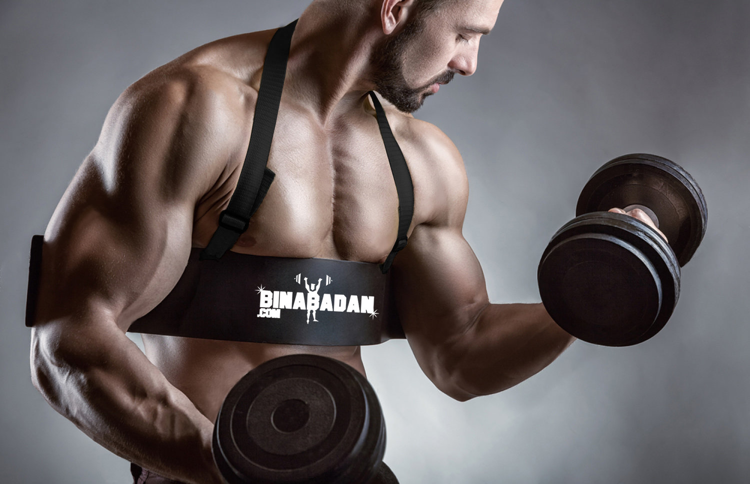Binabadan.com Arm Blaster for ARM WORKOUTS