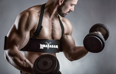 Binabadan.com Arm Blaster for ARM WORKOUTS