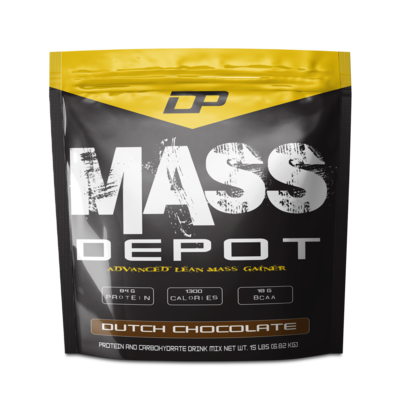 DP Mass Depot 15 lbs (6.82 kg) - NEW FORMULA 84 Gram PROTEIN