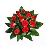 Bouquet Flores 10 Rosas Vermelhas 00040