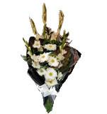 Ramo de Funeral Branco 00054