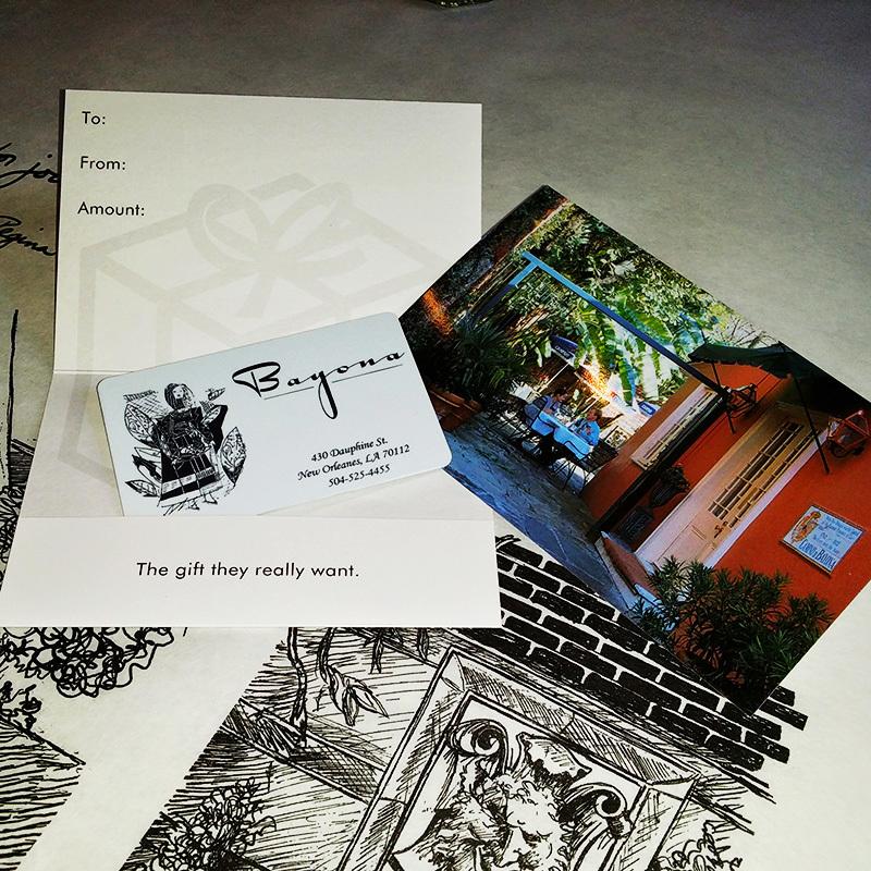 Bayona Gift Card (choose denomination) 1001