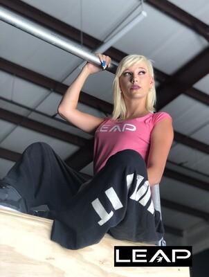 LEAP Pink Parkour Women's T Shirt