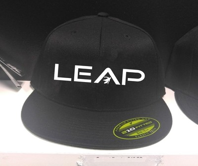 LEAP PARKOUR Fitted Embroidered Hat