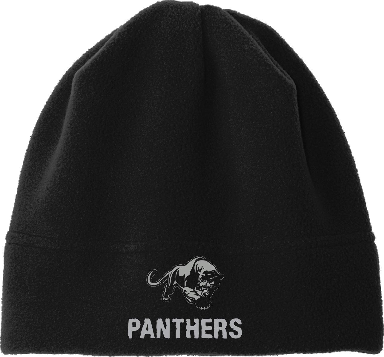 Panthers Black Beanie PPBB