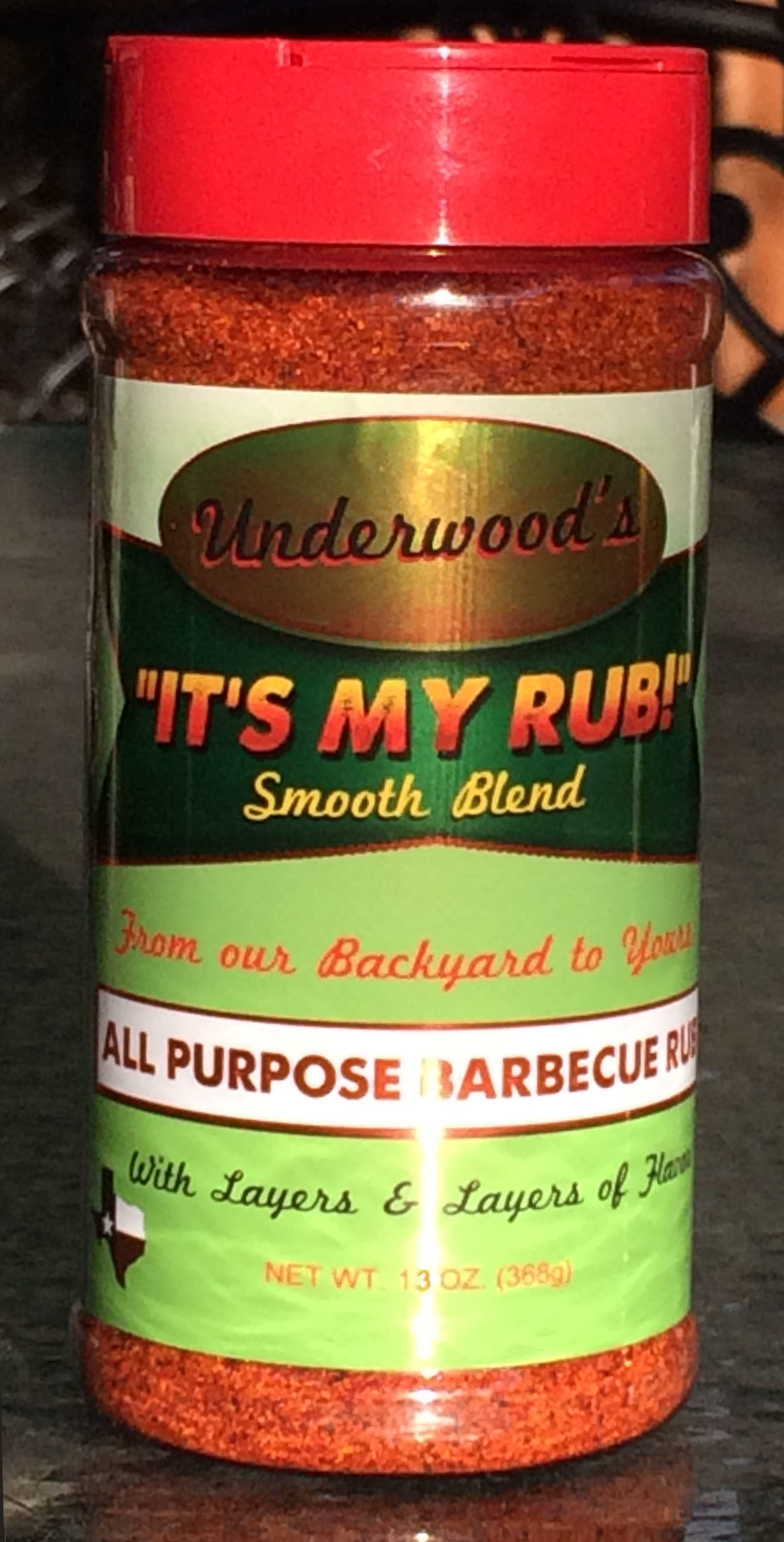 It's My Rub Smooth Blend - 16 oz. Bottle 7 42832 05027 2