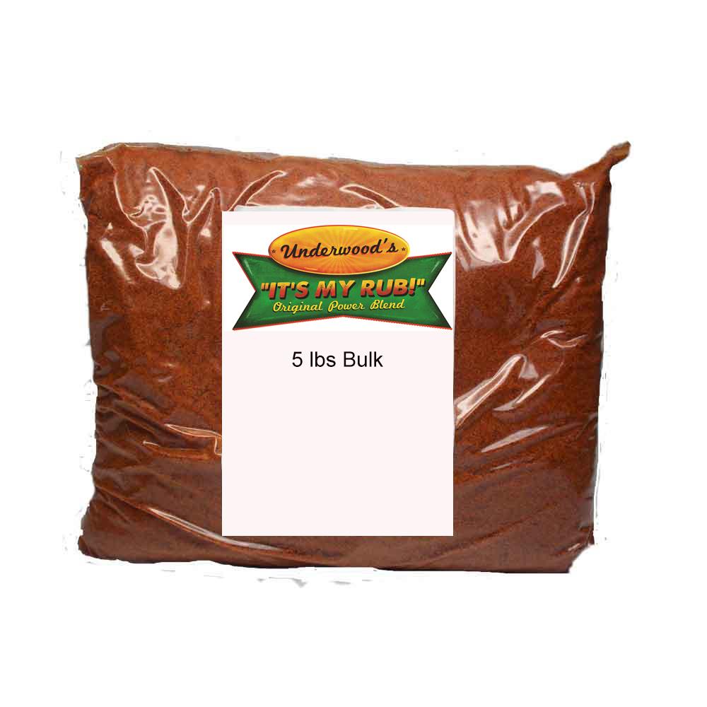 It's My Rub! - Power Blend 5 lbs. Bulk Bag 7777777777