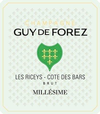 Champagne Millésimé 2012