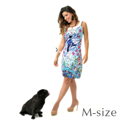 RS BLESSED VIRGIN DRESS – M size