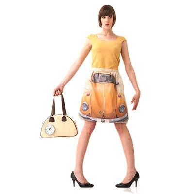 SKIRT - VW  / yellow