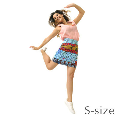 RS PUZZLE SKIRT – S size