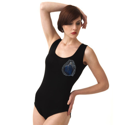 Body / Black and Blue Heart 3 - SIZE XS