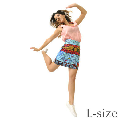 RS PUZZLE SKIRT – L size