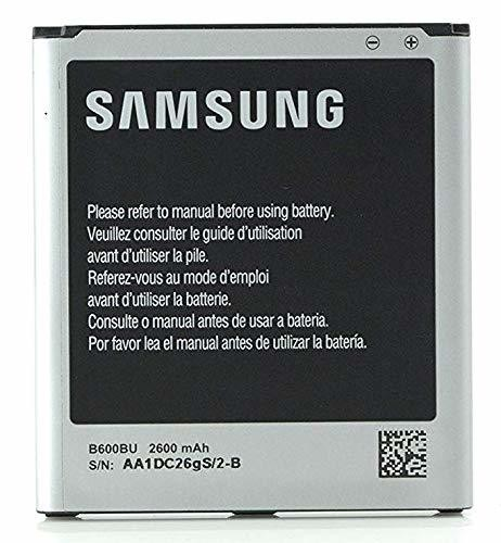 Samsung Original Genuine OEM Spare 2600 mAh Replacement Battery for Samsung Galaxy S4 - Non-Retail Packaging - Silver (Discontinued by Manufacturer)