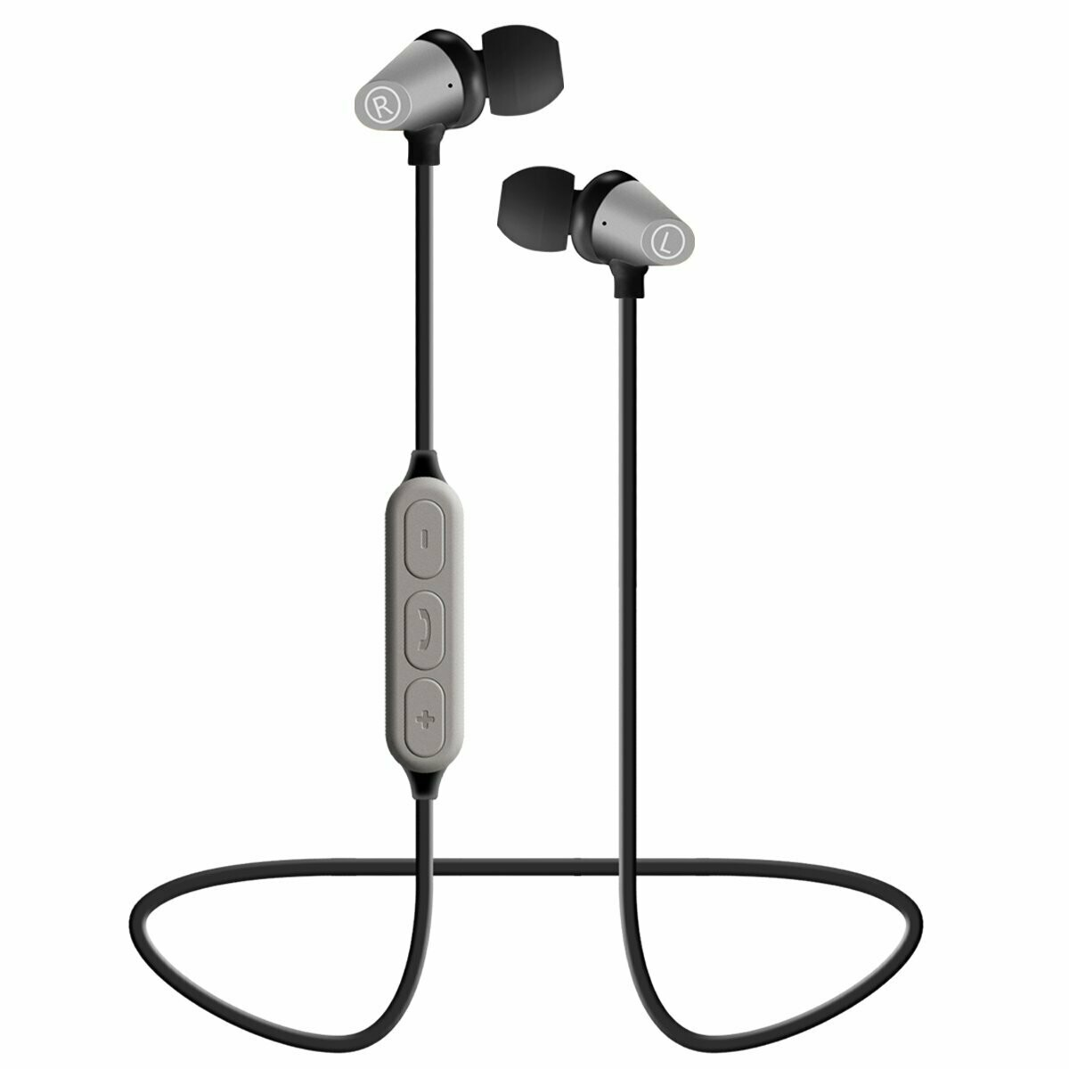 Bluetooth Headphones, Wallfire Best Wireless Sports Earphones w/Mic 4.1 Stereo Sweatproof Earbuds for Gym Running Playtime, Magnetic Bluetooth Headset
