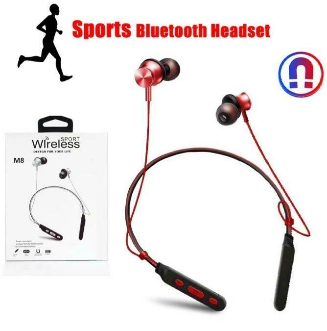 Neckband Headset Bluetooth Earphone