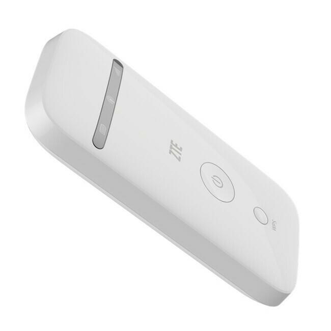 Router Portatif Rechargeable ZTE MF65 4G LTE Unlocked SIM DIGICEL OU NATCOM - COULEUR BLANCHE