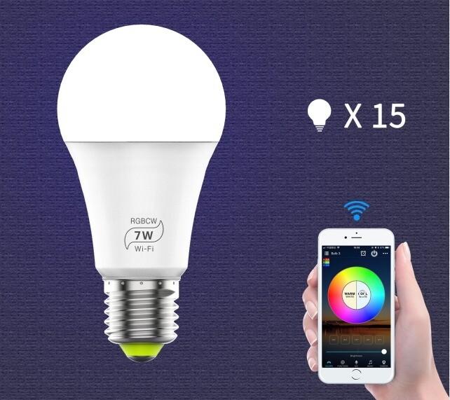 Ampoule Intelligente WIFI Wireless - Smart Wifi Bulb