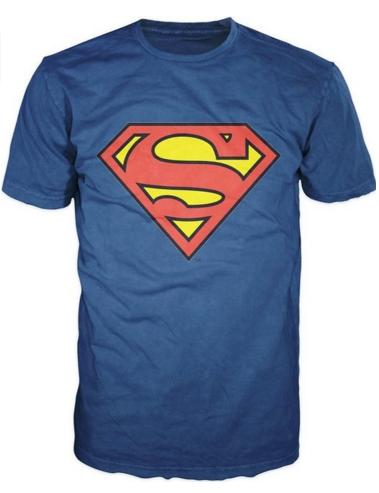 SUPERMAN T-Shirt - Maillot Superman (Medium) FABRIQUE AUX USA (Nouveau Stock) - ShopEasy