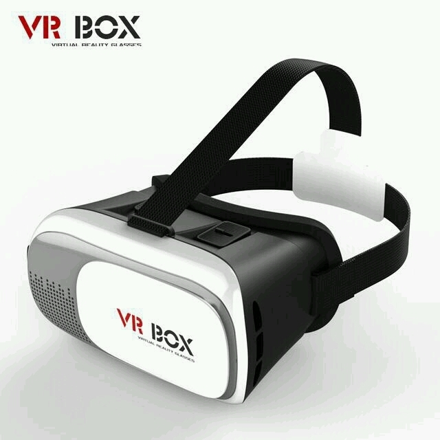 Lunettes 3D Realite Virtuelle pour Smartphone - VR Glasses Virtual Reality Cardboard - Lunettes 360 3D VR Goggle