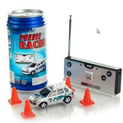 Mini Car/ Vehicle Coke Can Speed RC (Mini Voitures Telecommandees) (MACHIN NAN MESURE 3 POUS)