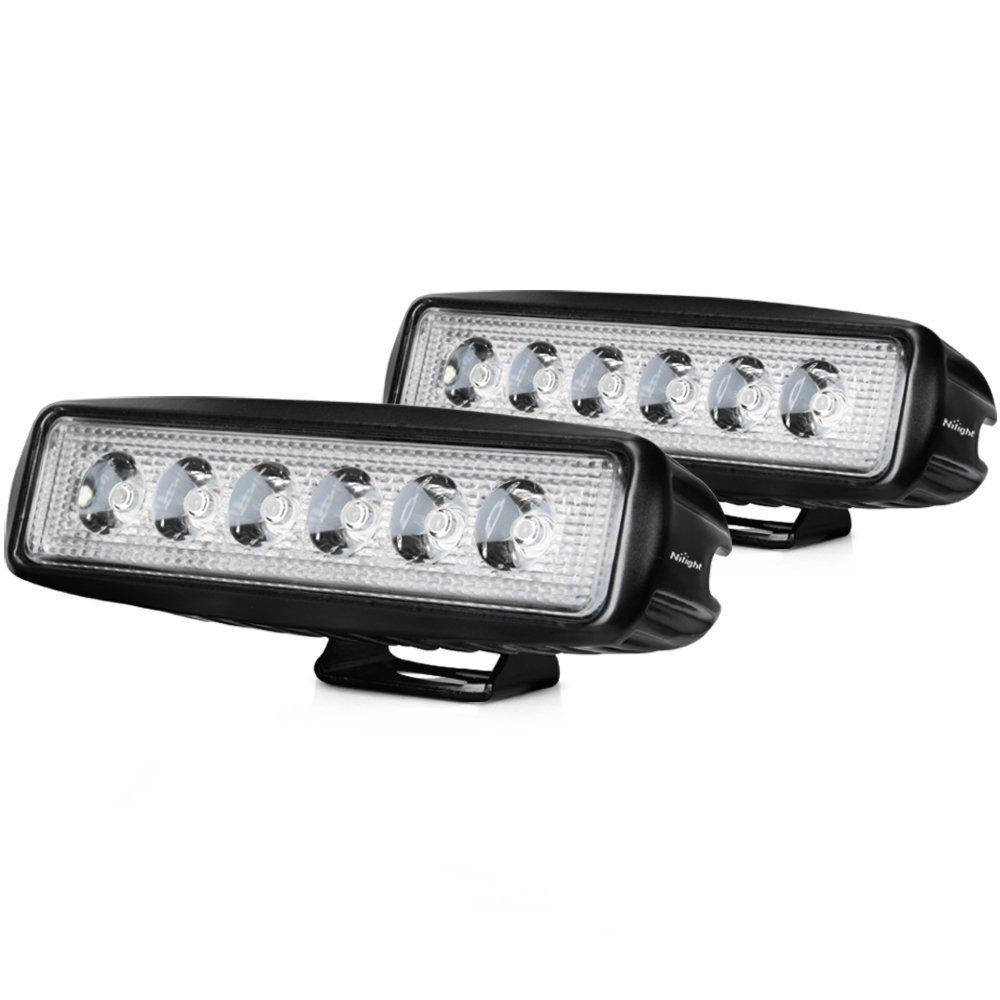 """LED Spot Light 18W Dimension 7"""" x 3"""" Pour Voiture (Paire) Spotlight"""