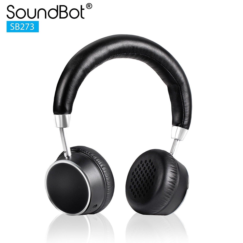 SoundBot SB273 Premium HD Stereo Bluetooth Wireless Headset Headphone