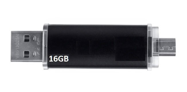 USB Double Android & PC 16GB version 5.0