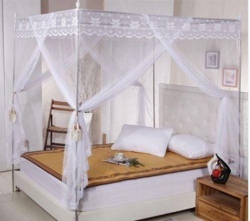 Moustiquaire Encadrement Metallique Canopy Mosquito King Size Bed - Anti Moustique