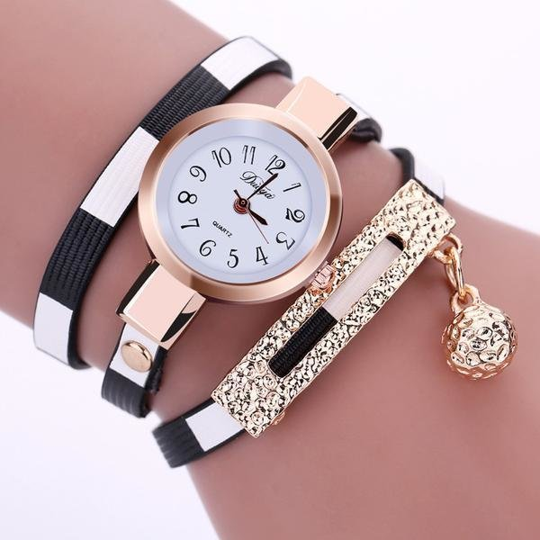 Bracelet Montre Watch Black & White (NOIR et BLANC)