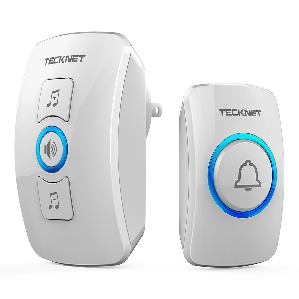 Sonette Wireless Doorbell pour Maison ou Magasin - Prise Murale Wall Plug Doorbell Camera REFURBISHED
