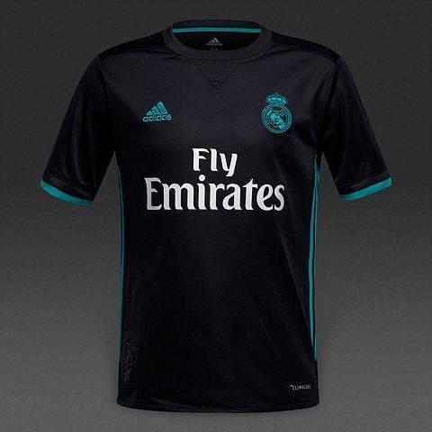 Maillot Real Madrid Reserve Noir Et Bleu-SHOPEASY