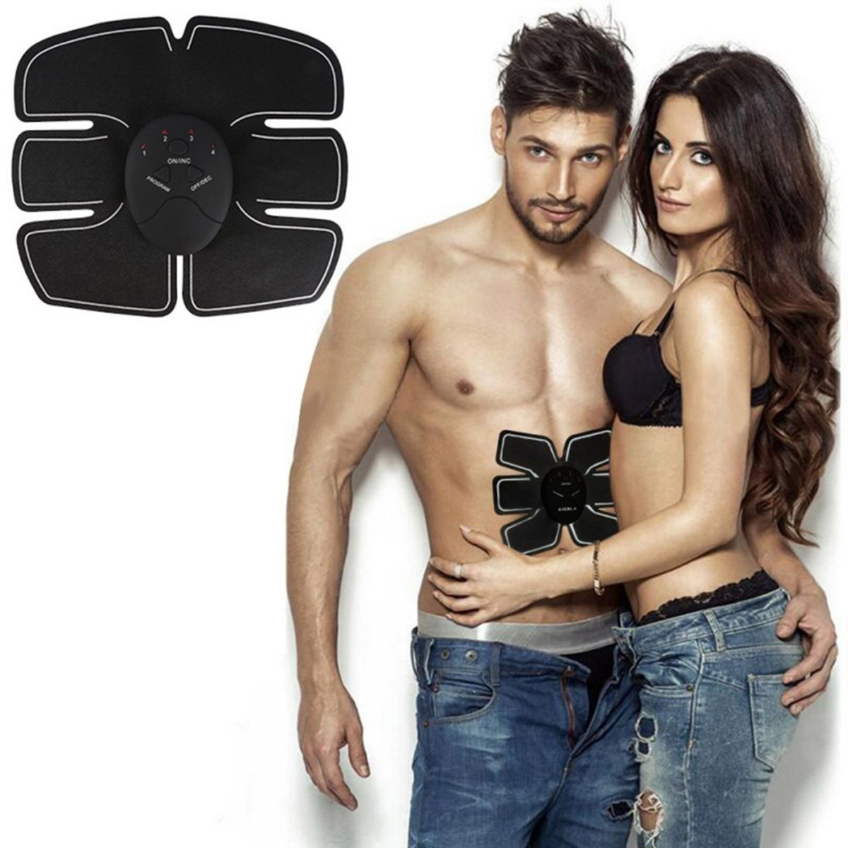 Sculpteur Abdominaux MEDIUM - Fitness Slimming Body Sculptor Muscle Trainer Butterfly ab Gymnic Belt Massager Pad Abdominal Muscle Exerciser Belts Fat Burner