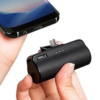 Chargeur Portable Charger Power Bank Backup 3300mAh POUR CHARGEUR TYPE C pour UNIQUEMENT Samsung Galaxy Note 8, S8, LG, G6, G5, Elite X3, HTC A9