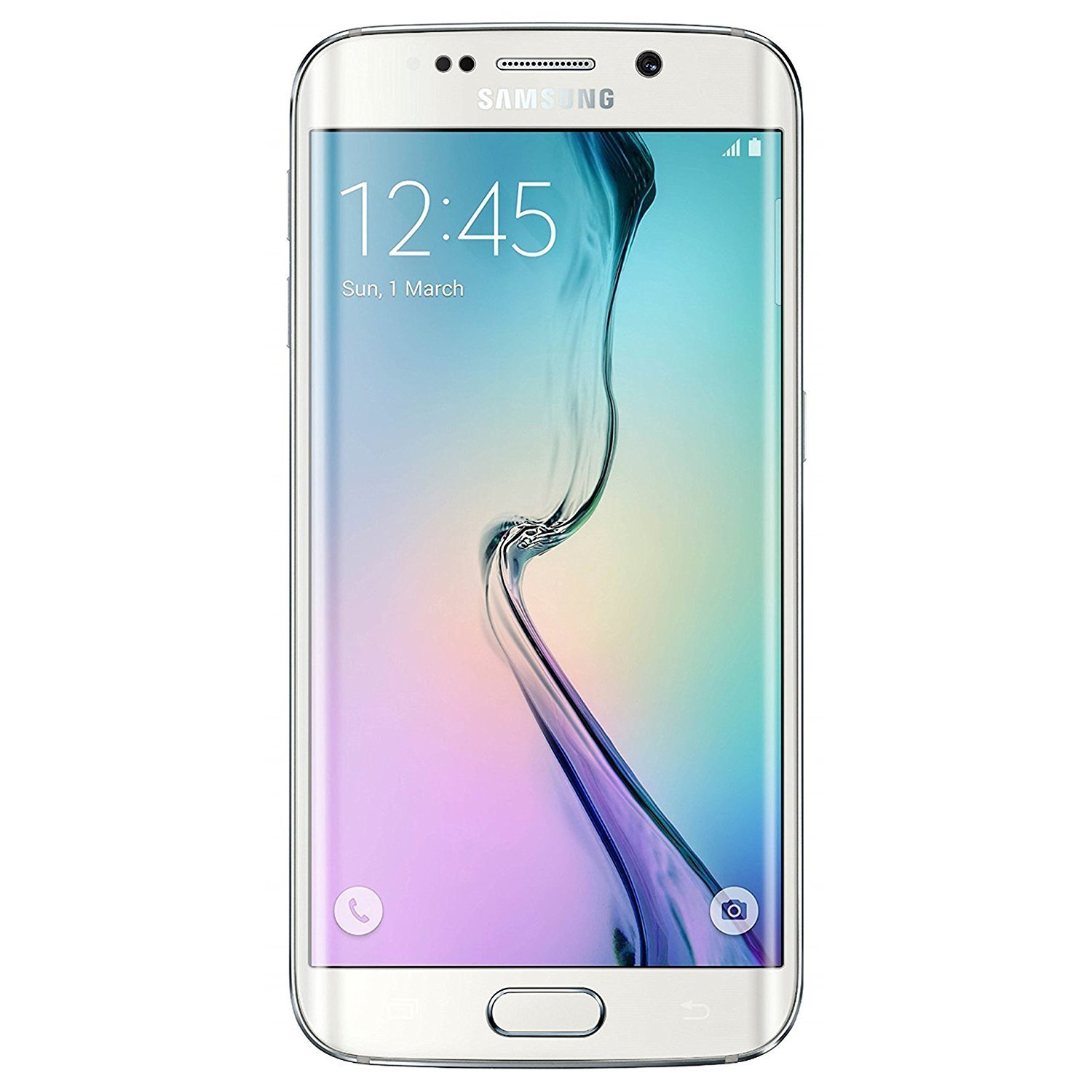 Samsung Galaxy S6 Edge G925A 32GB UNLOCKED GSM 4G LTE PEARL WHITE Octa-Core Android Smartphone (PREPAIEMENT 50% DOWN)