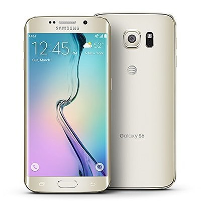 Samsung Galaxy S6 Edge G925a 32GB UNLOCKED GSM 4G LTE Octa-Core Smartphone w/ 16MP Camera - GOLD PLATINUM (PREPAIEMENT 50% DOWN)