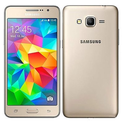 Samsung Galaxy Grand Prime Dual Sim Factory UNLOCKED Phone - GOLD (International Version) (PRECOMMANDEZ 50% DOWN)
