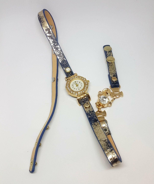 Bracelet Montre Quartz - Bleu