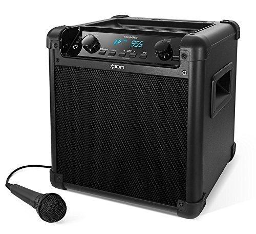 ION Audio Tailgater (iPA77) | Portable Bluetooth PA Speaker avec Mic, AM/FM Radio & USB Charge Port