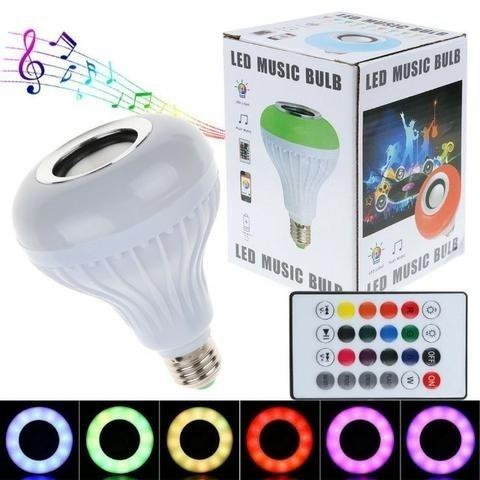 Smart Ampoule Speaker Bluetooth RECHARGEABLE Music Bluetooth LED Light Buld