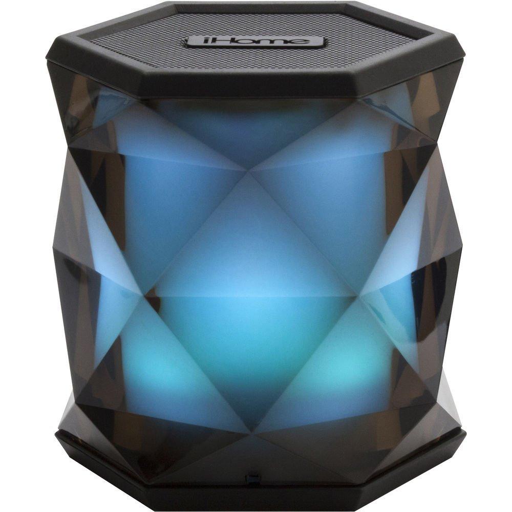 """iHome Color Changing Bluetooth Rechargeable Speaker System 3"""" (UN DES MEILLEURS HAUT-PARLEURS AUX MEILLEURS PRIX) - iBT68BC"""