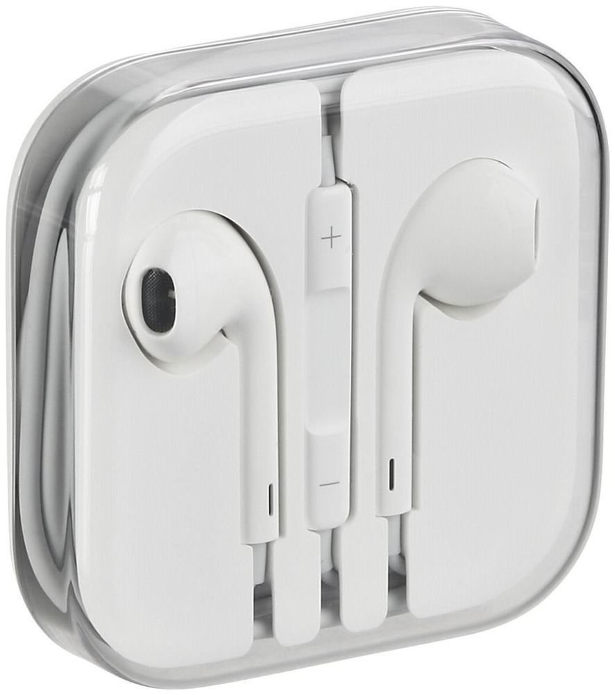 Headset Headphone Casque Ecouteur Ordinaire BLANC avec Cable - iPhone ou Android Earpiece Earphone