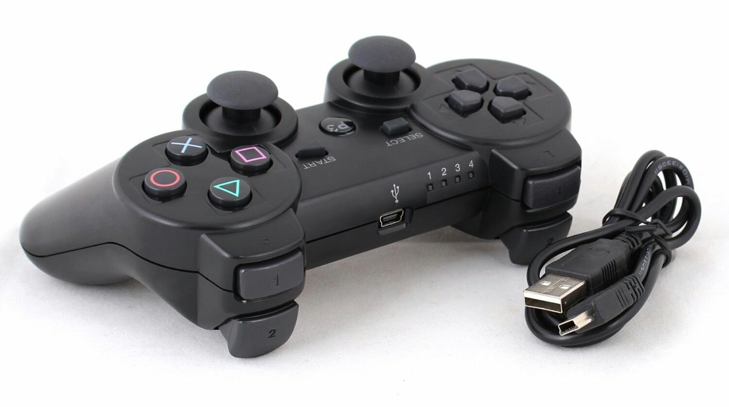Manette PS3 PlayStation 3 Controller Wireless 6 Axis - ShopEasy