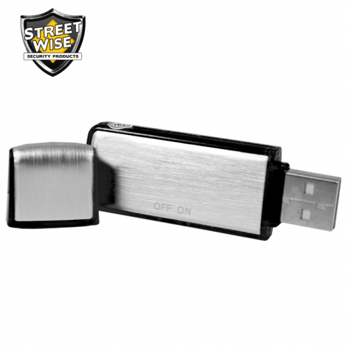 Covert USB Audio Recorder 4GB BCSWUSBAR4CEP