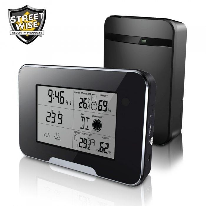 HD 1080P Weather Station Camera Wi-Fi Version BCSWWSIPCCEP